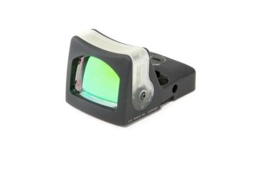 Trijicon Rmr Dual Illuminated 9 Moa Amber Dot Sight Black Rm05 Front V1