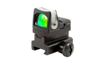 Trijicon Rmr Dual Illuminated 9 Moa Amber Dot Sight Picatinny Rail Mount Rm05 34 Front V1