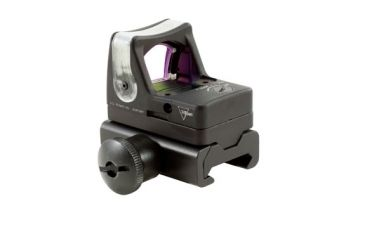Trijicon Rmr Dual Illuminated 9 Moa Amber Dot Sight Weaver Rail Mount Rm05 34w Side V3