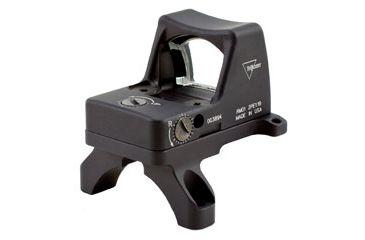 Trijicon Rmr Led 3pt25 Moa Red Dot Sight Black Acog Mount Rm01 35 Back V2