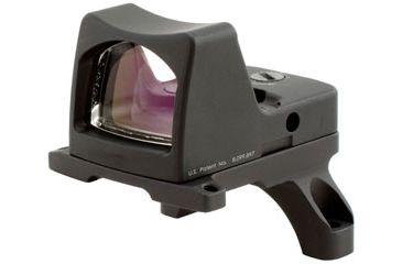 Trijicon Rmr Led 3pt25 Moa Red Dot Sight Black Acog Mount Rm01 35 Front V1