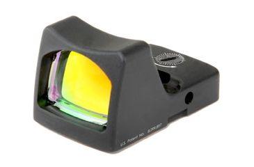 Trijicon Rmr Led 3pt25 Moa Red Dot Sight Black Rm01 Front V1