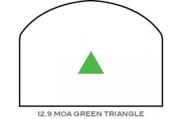 Trijicon RMR Nickel Boron Dual Illuminated Sight - 12.9 MOA Green Triangle RM08-C-700066