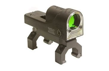 1-Trijicon RX01-17 Reflex 6.5 MOA Amber Dot Sight with H&K Mount