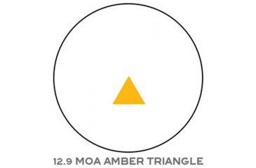 Trijicon RX06 12.5 MOA Reflex Sight w/Amber Triangle Reticle, No Mount