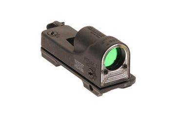 Trijicon RX09-23 Reflex Tactical Night Scope - Cyalume Amber Chevron Reticle with A.R.M.S. #15 Throw Lever Mount