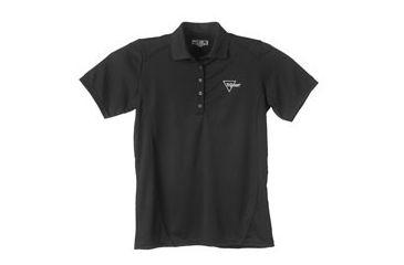 Trijicon Short Sleeve Ladies Polo with Logo, Black, X-Large AP46-XL