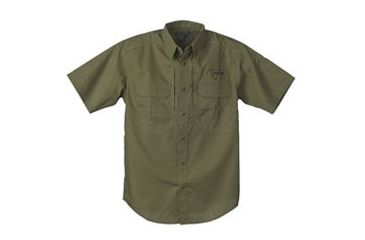 Trijicon Short Sleeve Tactical Shirt with Logo, Green, X-Large AP29-XL