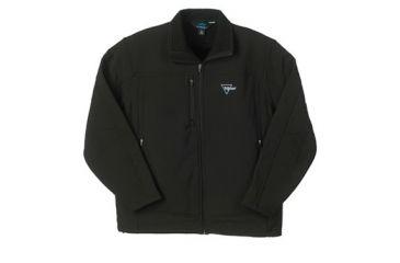 Trijicon Men's Soft Shell Lined Jacket w/ Trijicon Logo, Black, XL AP49XL