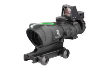 Trijicon ACOG 4x32 RifleScope with  4.0 MOA RMR Sight, TA51 Mount