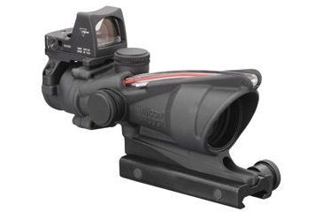 Trijicon ACOG 4 X 32 Scope Dual Illuminated Chevron .223 Ballistic Reticle