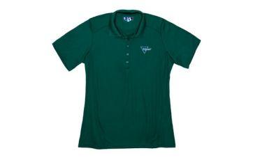 Trijicon Women's Short Sleeve Polo Shirt w/ Trijicon Logo, Green, Medium AP54-MED