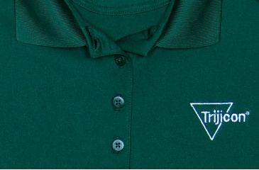 Trijicon Women's Short Sleeve Polo Shirt w/ Trijicon Logo, Green, Small AP54-SM