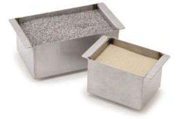 Troemner Henry Modular Heating Blocks, Stainless Steel Sand Bath 949086 Accessories Stainless Steel Shot For Sand Bath, 454g (1lb.)