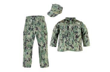 bca2a964f44aa Trooper Clothing Youth Navy Uniform Set, 3 Piece - Kids, NWU III Digital  Camo