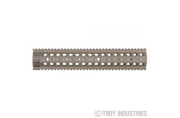 Troy 13.8in Mrf-308 Battle Rail Dpms Lp - Flat Dark Earth SRAI-308-D3FT-00