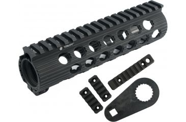 Troy 7 in. Modular Rail Forend for M4/M16/AR15 Carbines - Black