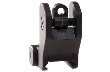 Troy Rear Tritium Fixed Battle Sight - Black SSIG-FRS-RTBT-00