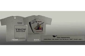 Troy MCS Ace of Spades Card I T-Shirt Desert Sand