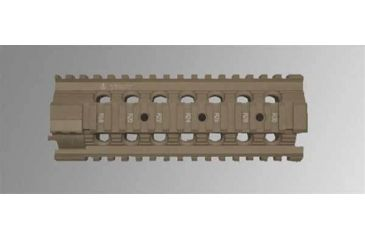 Troy 7 in. Modular Rail Forend for M4/M16/AR15 Carbines - Flat Dark Earth