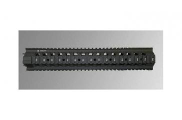 Troy 13.5 in. Rifle Extended Modular Rail Forend for SPR type set-ups - Black