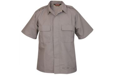 Tru Spec 1002006 Short Sleeve Grey Tactical Shirt Pc Rs