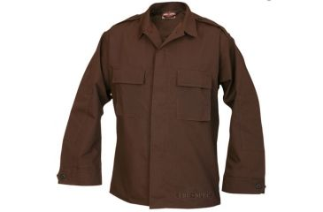 Tru Spec 1384002 Long Sleeve Brown Tactical Shirt Pc Rs