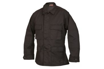 Tru Spec 1728002 Black Cottonpoly Twill Bdu Jacket Extra Small