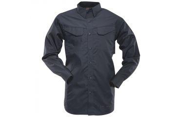 Tru-Spec 24-7 Ultralight Field Shirt, Extra Small, Regular Length, Navy 1103002