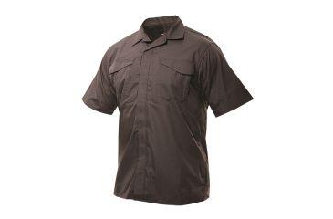 Tru-Spec 24-7 Ultralight SL Uniform Shirt 65/35 Poly/Cotton Rip-Stop, Brown, XSmall Regular 1049002