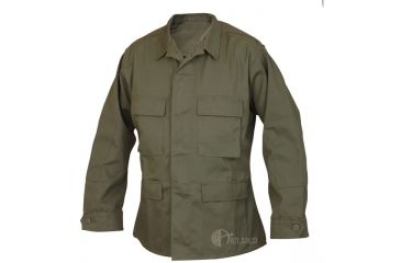 Tru-Spec Basic BDU Jacket OD Green C/P R/S, Extra Large Long 1588026