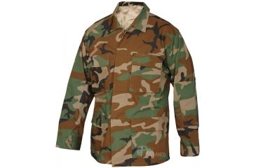 Tru-Spec Basic BDU Jacket W/P C/P R/S, Large Reg. 1587005