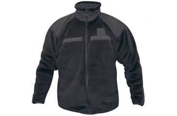 Tru-Spec Fleece Jacket Black GEN-3 ECWCS LEVEL-3,Small Reg. 2079003