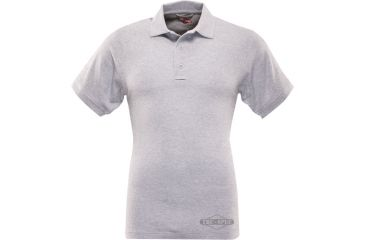 Tru-Spec Men's Short Sleeve Classic Polo, Grey, Extra Small 4415002