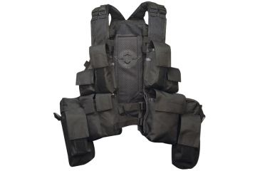Tru-Spec SSV-5S 11-Pocket Vest, Black 2878000