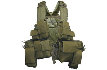 Tru-Spec SSV-5S 11-Pocket Vest, OD Green 2877000