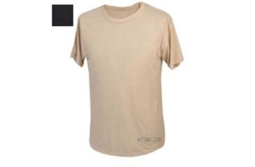 Tru-Spec T-Shirt, Black Short Sleeve, 3Xl 4370008