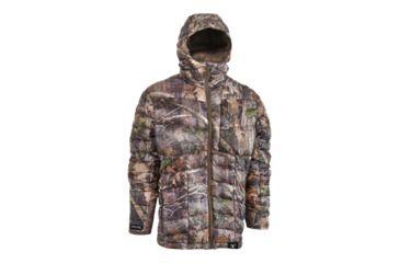 bff9f9d2ba199 TrueTimber Pulse Lightweight Packable Down Hooded Jacket - Mens, Kanati,  Medium, 0025-