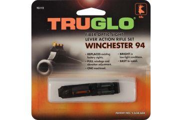 TruGlo Firesight Aluminum Shotgun Sights, Green Rear, Red Front TG112W