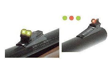 TruGlo Firesight Aluminum Shotgun Sights, Green Rear, Red Front - Remington Shotgun/Rifle TG110W
