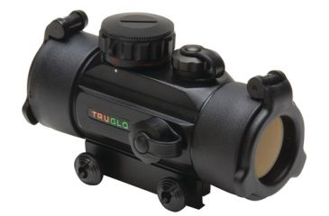 TruGlo Red Dot Dual Color Sight 1x30mm 5 MOA Red/Green Reticle Matte Black