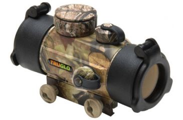 Truglo TG8030A Red Dot 1x 30mm Obj Unlimited Eye Relief 5 MOA Realtree APG