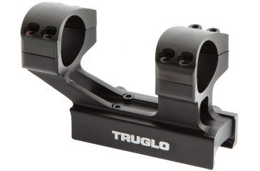Truglo TG8963B Scope Mount For Tactical Rifle 1-Piece Weaver/Picatinny Black Fin