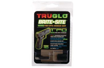 TruGlo Tritium Fiber Optic Brite-Site Handgun Sight For H&K USP Excluding Compact and Tactical TG131HT