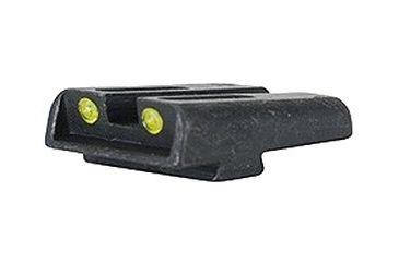 TruGlo Tritium / Fiber Optic TFO Hand Gun Sights - Yellow Rear, Tru Glo Gun Sights TruGlo Tritium/Fiber Optic TFO Hand Gun Sights, Yellow TG131GT1Y (see below)