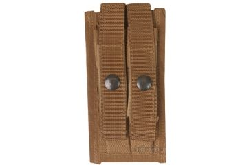 5Star 9mm 2-Mag Pouch, coyote MOLLE 6597000