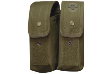 5Star AKDP-5S M4/Ak47 Double Mag Pouch, OD 6480000