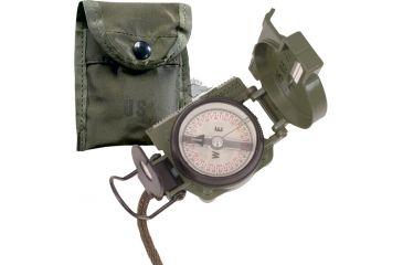 5Star GI Lensatic Compass, W/Pouch 5160000