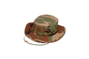 Tru-Spec Military Boonie, TRU DIG. W/P W/WIDE BRIM & LOOPS, 7-3/4 3261006