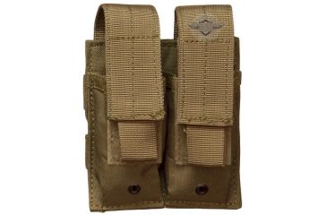 5Star MPD-5S Double Pistol Mag Pouch, Coyote 6467000